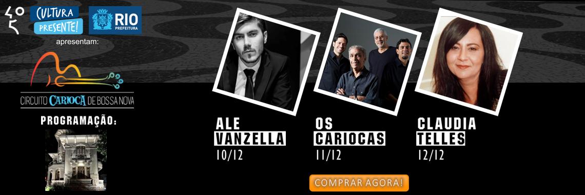 Shows no Centro da Música Carioca Artur da Távola